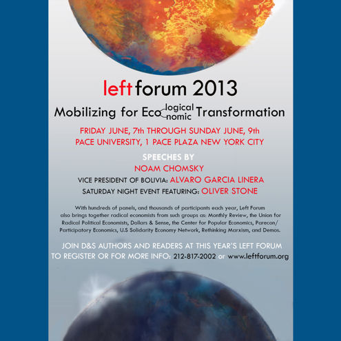 Left Forum 2013 ad